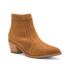 Matisse tan leather boots